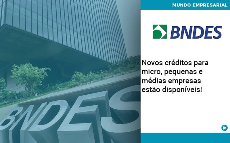 Novos Creditos Para Micro Pequenas E Medias Empresas Estao Disponiveis - Job Cont