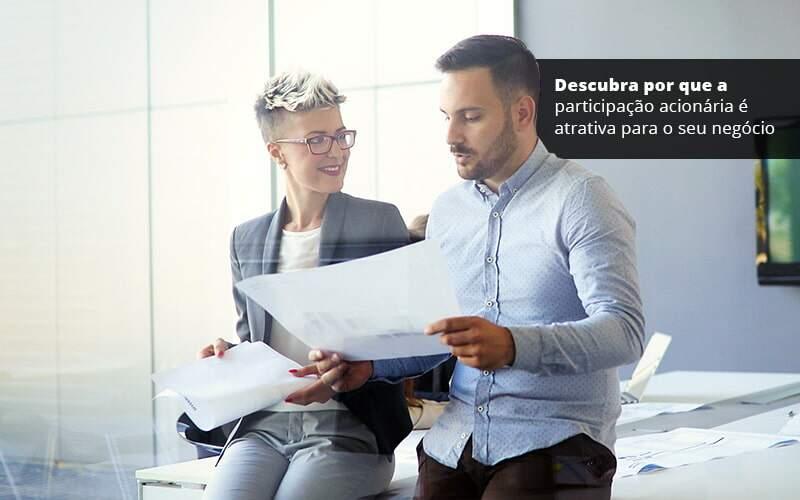 Descubra Por Que A Participacao Acionaria E Atrativa Para O Seu Negocio Post 1 - Job Cont