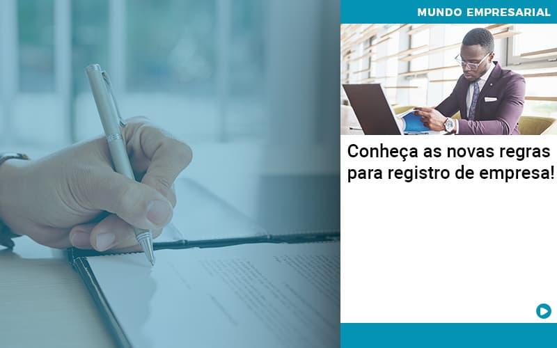 Conheca As Novas Regras Para Registro De Empresa - Job Cont