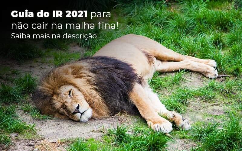Guia Ir 2021 Para Nao Cair Na Malha Fina Saiba Mais Na Descricao Post 1 - Job Cont