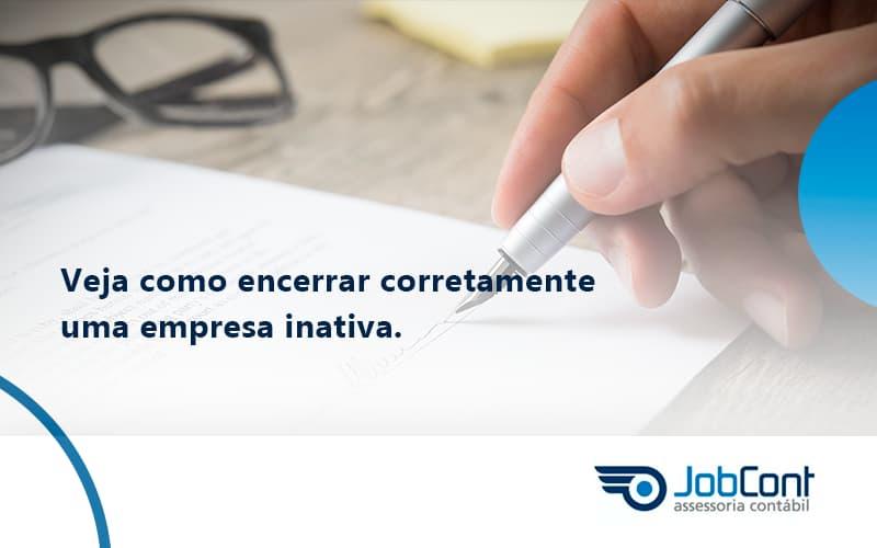 Encerrar Corretamente Jobcont - Job Cont